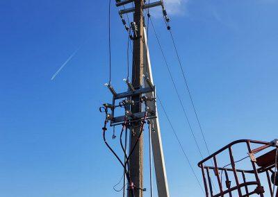 10 kV oro linijų darbai